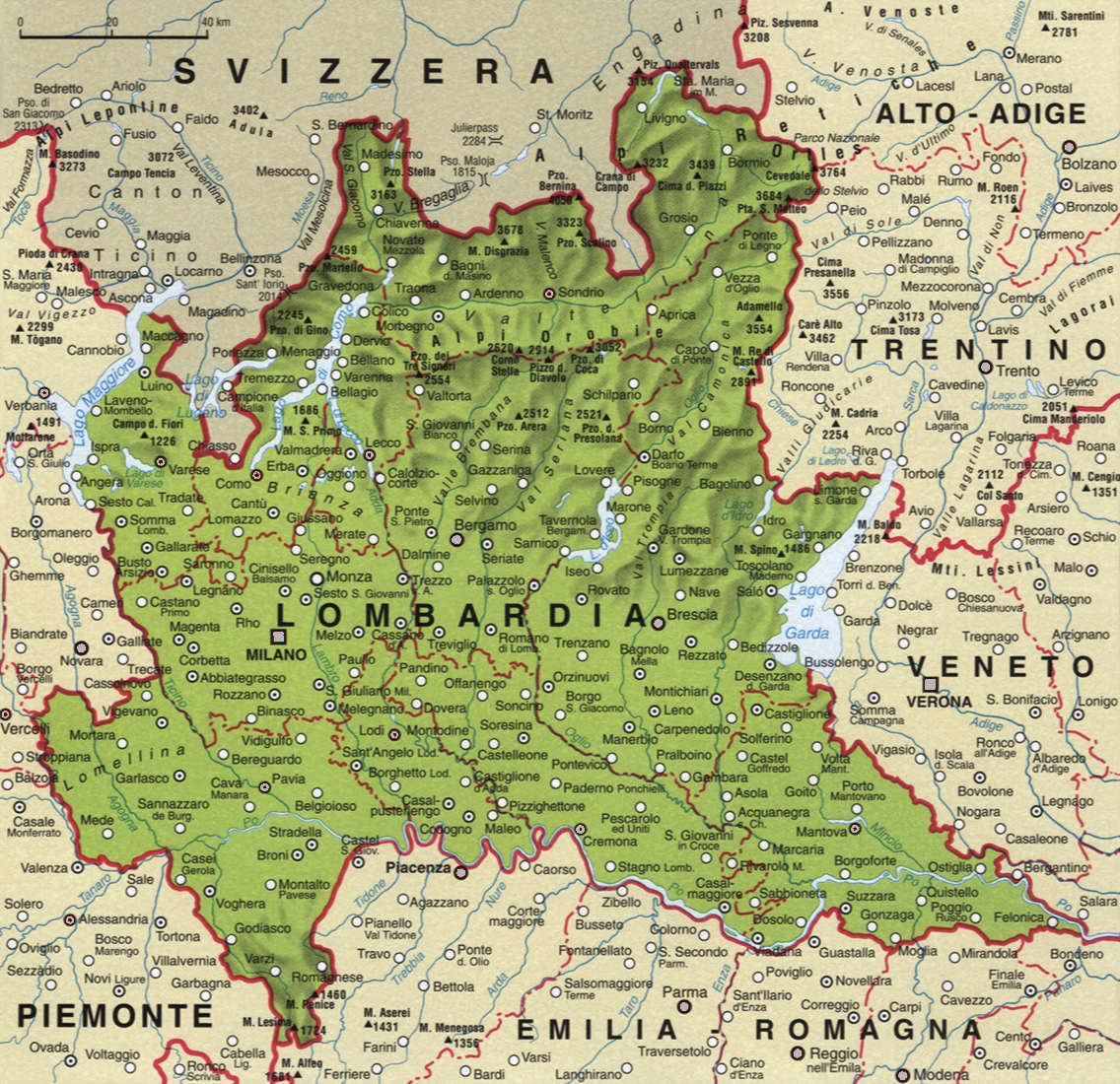 Cartina Lombardia Pavia.Federvita Lombardia I Soci